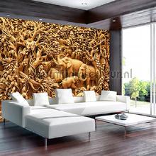 Elephant jungle fotobehang Kleurmijninterieur dieren
