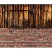 Stuk schuur met luik fotobehang Architects Paper AP Digital 2 470423-200-grams