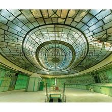 Controle centrum fototapet Architects Paper verdenskort