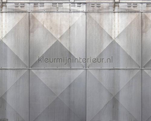 Metal section fotobehang dd108545 Interieurvoorbeelden fotobehang Architects Paper