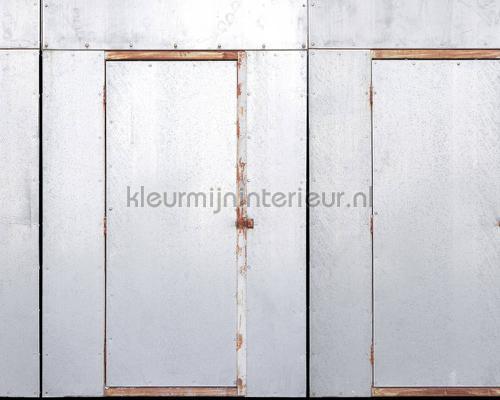 Iron doors fotobehang dd108565 Interieurvoorbeelden fotobehang Architects Paper