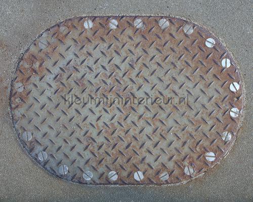 Iron plate 1 fotobehang dd108600 Interieurvoorbeelden fotobehang Architects Paper