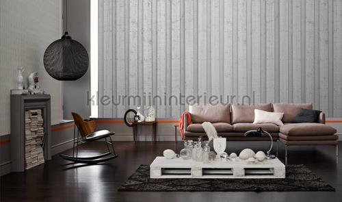 Wooden wall fotobehang dd108620 Interieurvoorbeelden fotobehang Architects Paper