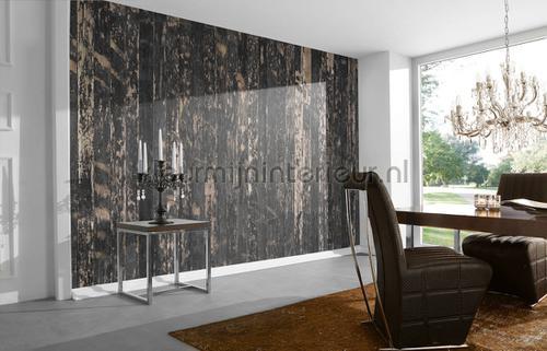Wooden floor fotobehang dd108630 Interieurvoorbeelden fotobehang Architects Paper