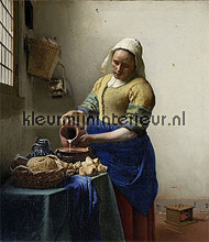 Het Melkmeisje - Johannes Vermeer fotobehang BN Wallcoverings Art 30730