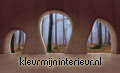 View on the forest from cave photomural Kleurmijninterieur all-images