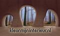 View on the forest from cave fotomurales Kleurmijninterieur Todas-las-imágenes