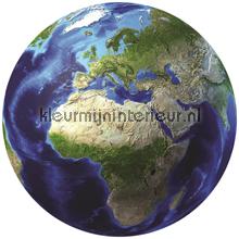 De aarde fotobehang Ruimte---Heelal