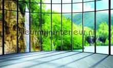 Eden waterfall fotobehang Kleurmijninterieur Waterval