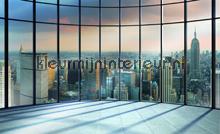 NY New York Skyliner fotobehang Kleurmijninterieur Steden---Gebouwen