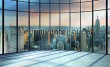 NY New York Skyliner photomural Kleurmijninterieur all-images