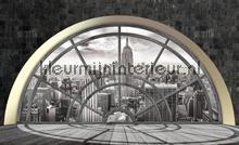 Panorama fotobehang Kleurmijninterieur Oosters---Trompe-loeil