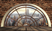 Panorama fototapet Kleurmijninterieur verdenskort