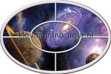Planeten fotobehang Kleurmijninterieur Ruimte---Heelal