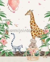 Giraffe fotomurali Creative Lab Amsterdam Botanical Collection giraffe
