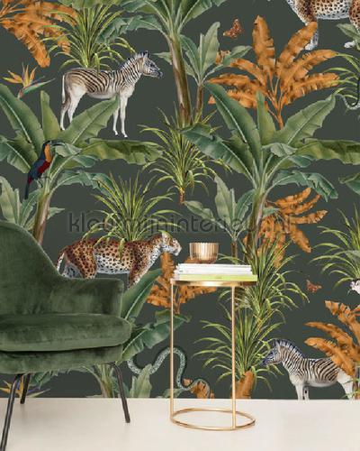 Mighty Jungle fotobehang mighty-jungle-fotobehang Bloemen - Planten Creative Lab Amsterdam