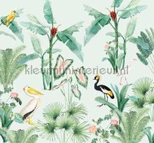 pelican carta da parati Creative Lab Amsterdam Botanical Collection pelican-300