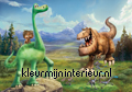 The good dinosaur meet up with Spot fotobehang Kleurmijninterieur kinderkamer jongens