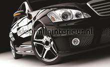 Black car fototapet Kleurmijninterieur teenagere