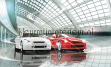 Sport cars fototapet Kleurmijninterieur teenagere