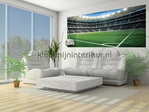 Stadium fotobehang 324-VE P Sport Kleurmijninterieur