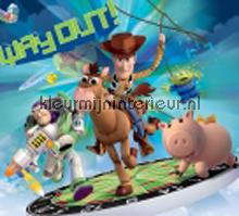 Toy Story - way out fotobehang Kleurmijninterieur Disney---Pixar