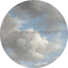 golden age clouds photomural Kek Amsterdam Circles and Panels ck-007