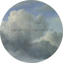 golden age clouds photomural Kek Amsterdam Circles and Panels ck-008