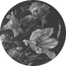 golden age flowers photomural Kek Amsterdam Circles and Panels ck-010