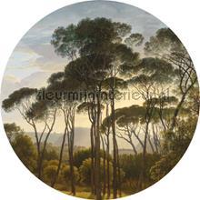golden age landscape fotobehang Kek Amsterdam Circles and Panels ck-011