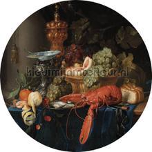 lobster fotobehang Kek Amsterdam Circles and Panels ck-014