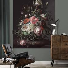 golden age flowers fotobehang Kek Amsterdam Circles and Panels pa-005