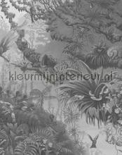 tropical landscape fotobehang Kek Amsterdam Circles and Panels pa-007