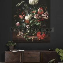 golden age flowers fotobehang Kek Amsterdam Circles and Panels pa-017