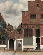 het straatje fotobehang Kek Amsterdam Circles and Panels pa-019