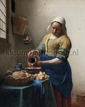 Het melkmeisje fotobehang Kek Amsterdam Kunst Ambiance