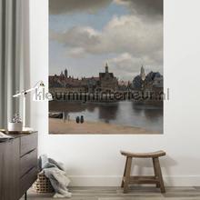 Gezicht op delft fototapeten Kek Amsterdam Fototapeten raumbilder