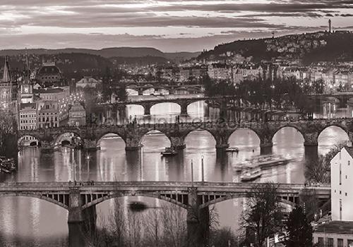 Kleur Mijn Interieur : Many bridges fotobehang city kleurmijninterieur