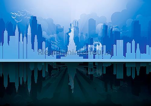 New York graphical fotomurales 11232-VE-M City Kleurmijninterieur