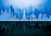 New York graphical fotomurali Kleurmijninterieur Tutti-immagini