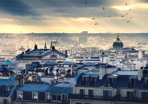 Good morning city fotomurales 11853ve-l Kleurmijninterieur