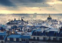 Good morning city fotomurali Kleurmijninterieur Tutti-immagini