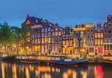 Amsterdam fotomurali Kleurmijninterieur Tutti-immagini