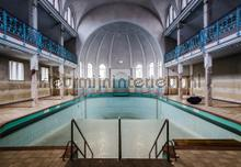 Old swimming pool photomural Kleurmijninterieur all-images