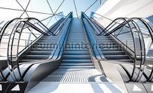 Escalators fotomurali Kleurmijninterieur Tutti-immagini