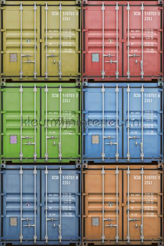 Containers fotobehang INK6051 Colour Choc Behang Expresse