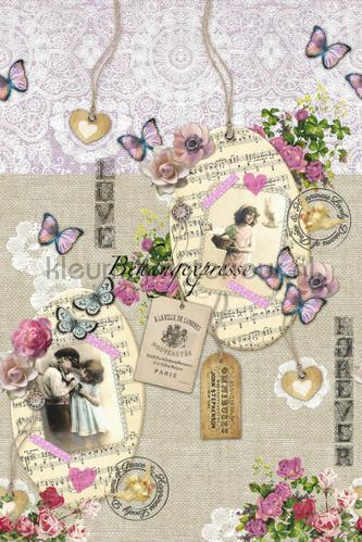 Lovely Romance fotomurali INK6055 Colour Choc Behang Expresse