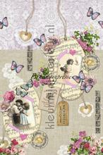 Lovely Romance papier murales Behang Expresse Colour Choc INK6055
