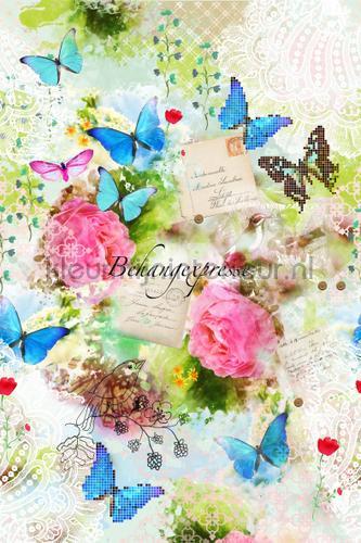 Spring Romance fotobehang INK6057 Colour Choc Behang Expresse
