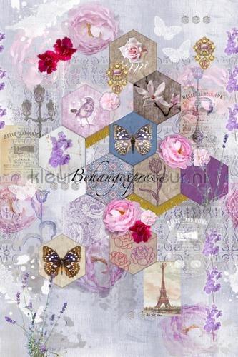 Sweet Linnen fotobehang INK6058 Colour Choc Behang Expresse